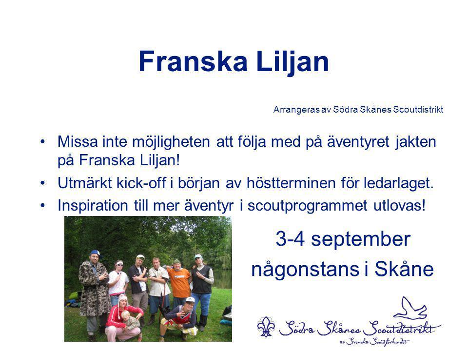 3-4 september någonstans i Skåne