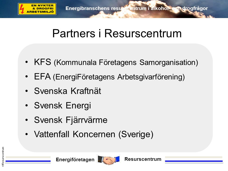 Partners i Resurscentrum