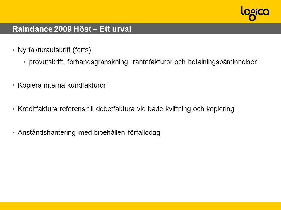 Raindance 2009 Höst – Ett urval