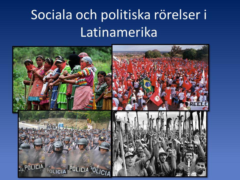 Sociala och politiska rörelser i Latinamerika