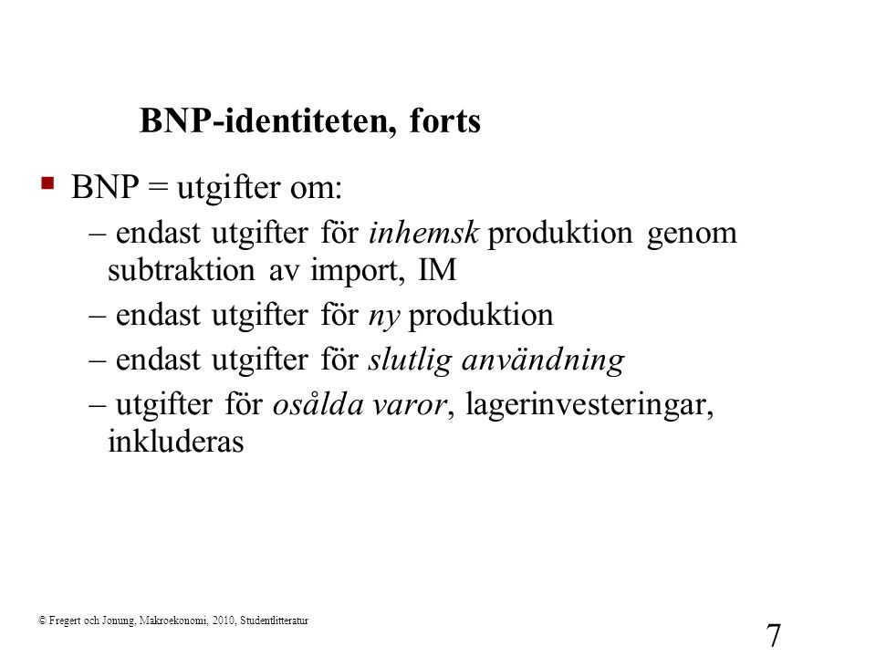 BNP-identiteten, forts