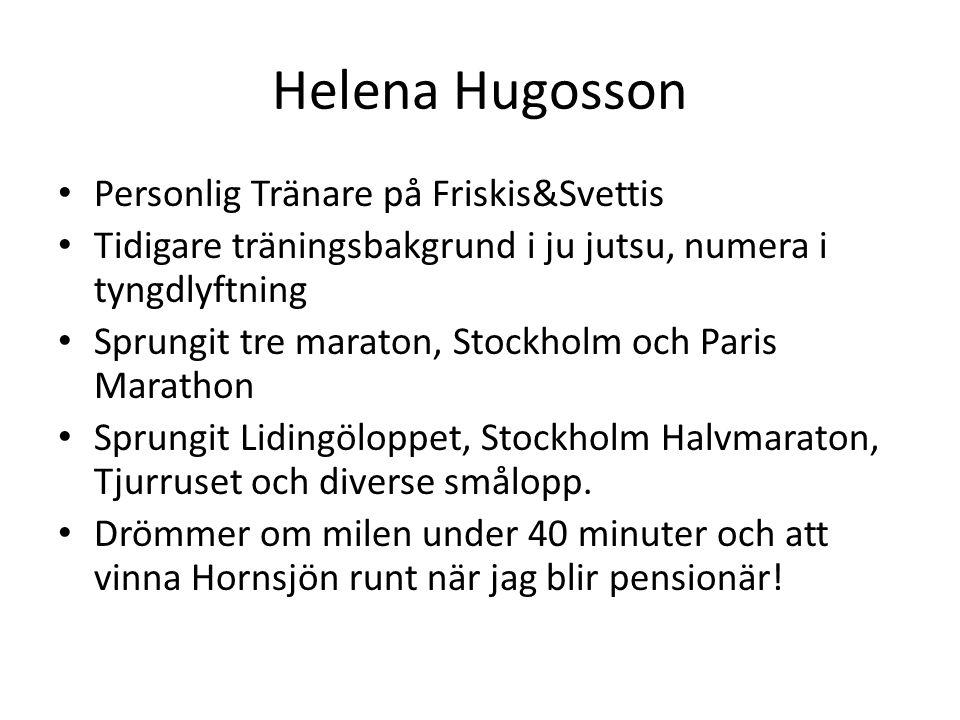 Helena Hugosson Personlig Tränare på Friskis&Svettis