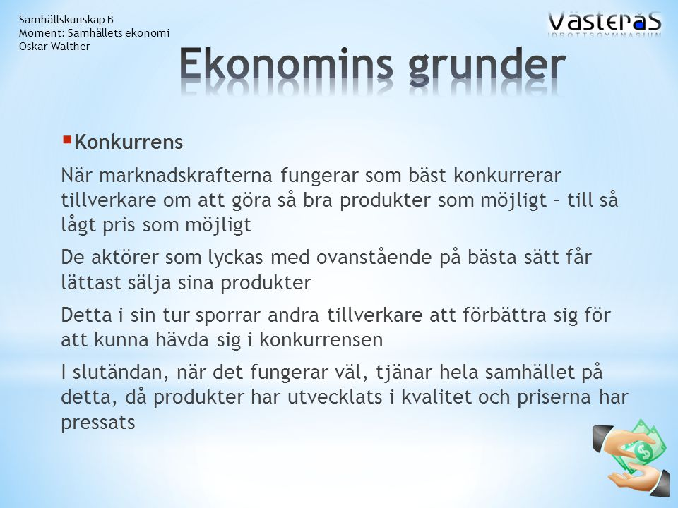 Ekonomins grunder Konkurrens