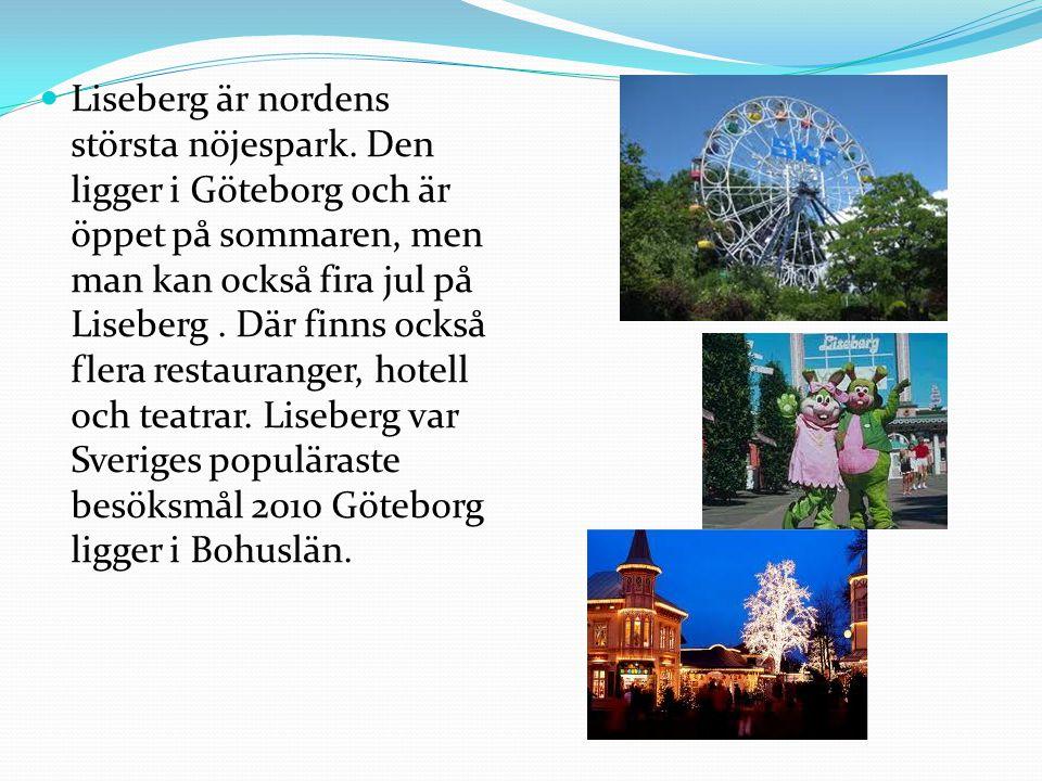 Liseberg är nordens största nöjespark