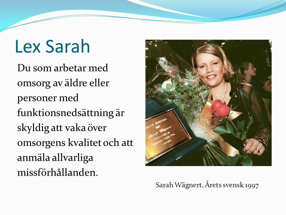 Lex Sarah
