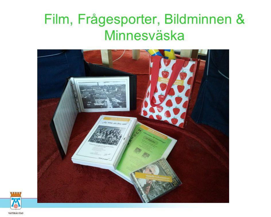 Film, Frågesporter, Bildminnen & Minnesväska