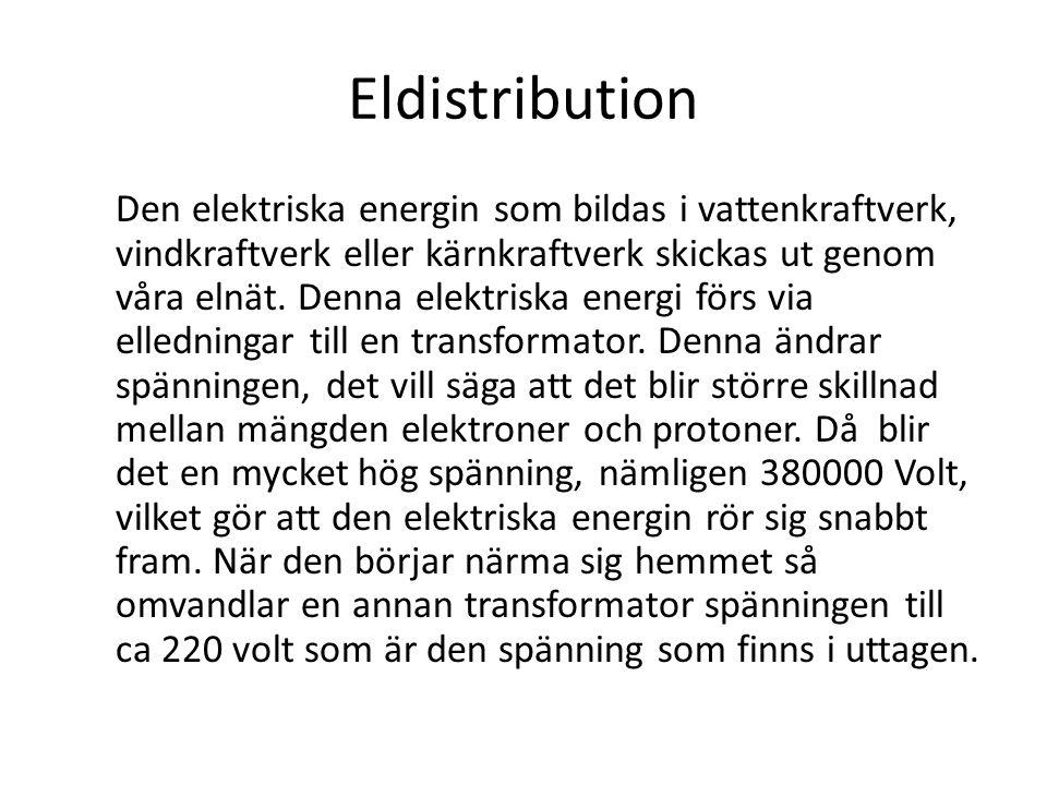 Eldistribution
