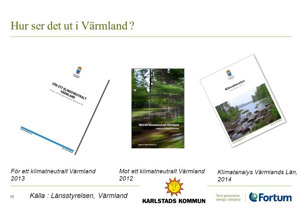Hur ser det ut i Värmland