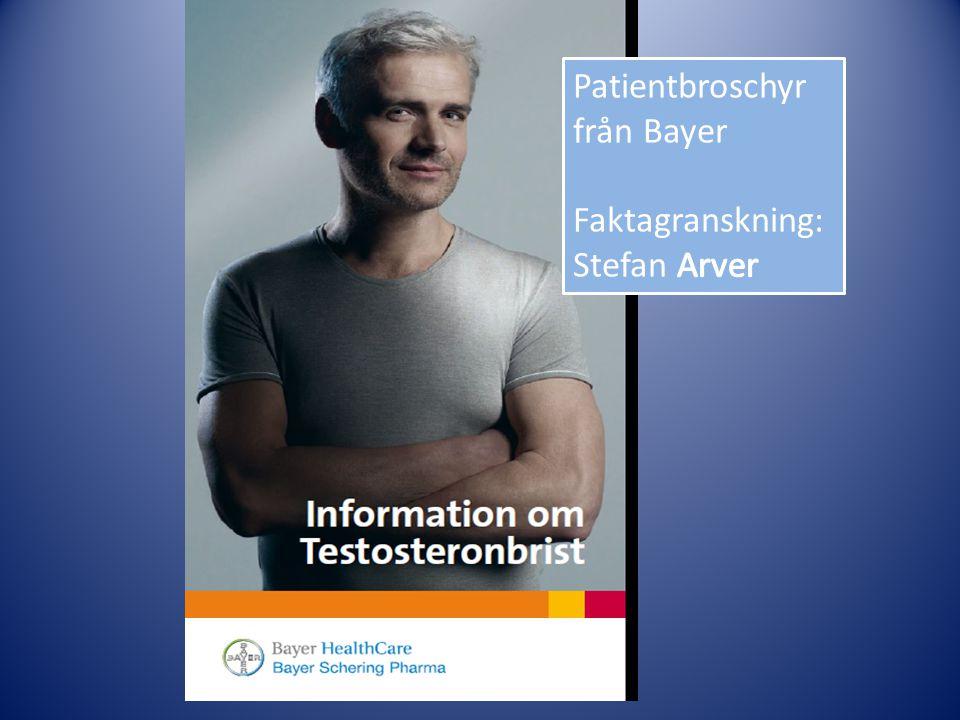 Patientbroschyr från Bayer