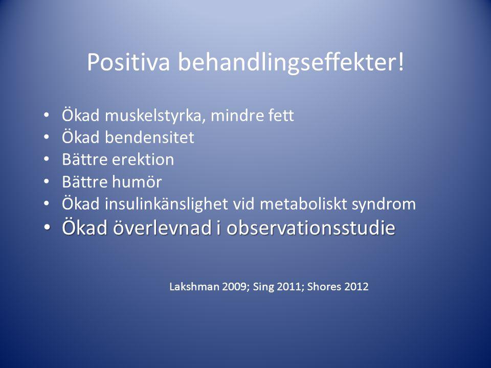 Positiva behandlingseffekter!