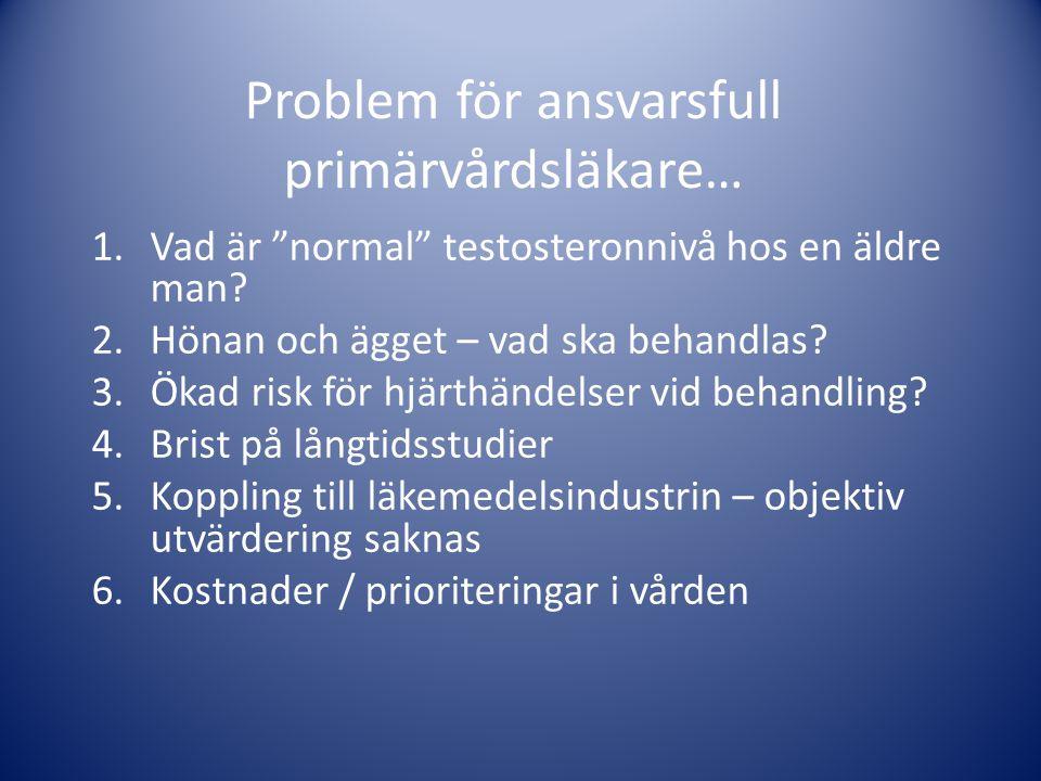 Problem för ansvarsfull primärvårdsläkare…