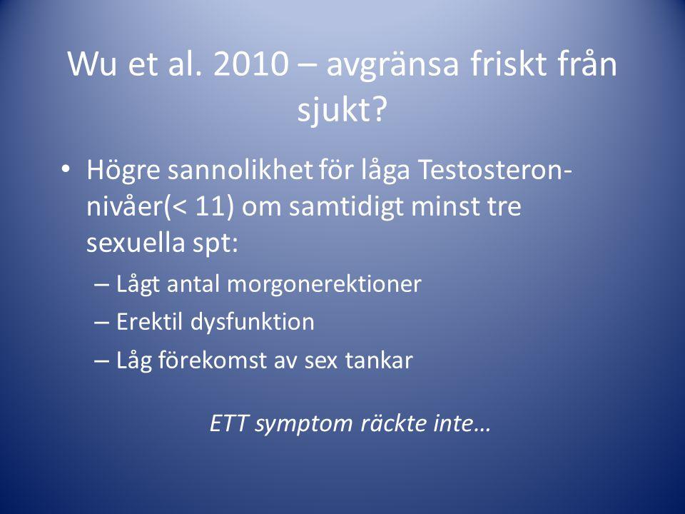 Wu et al. 2010 – avgränsa friskt från sjukt