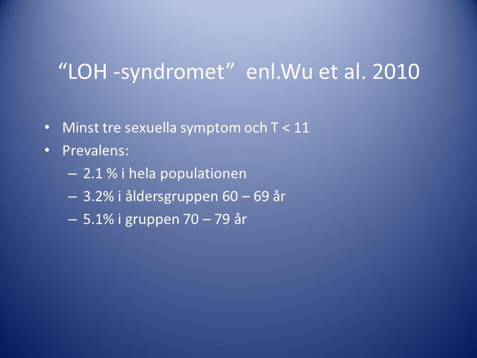 LOH -syndromet enl.Wu et al. 2010