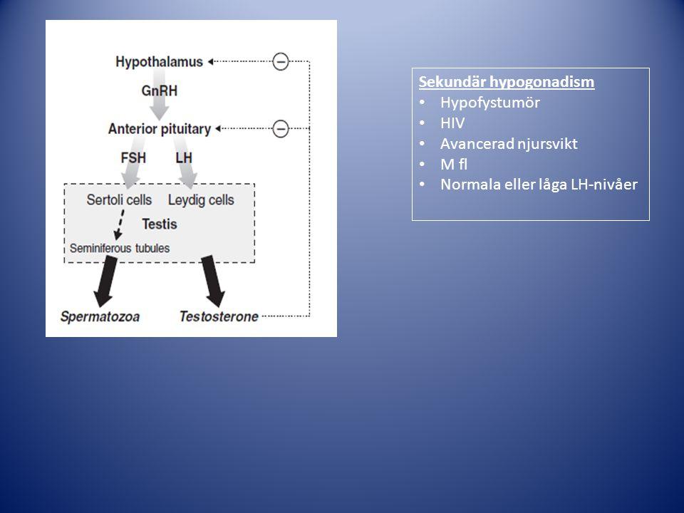 Sekundär hypogonadism