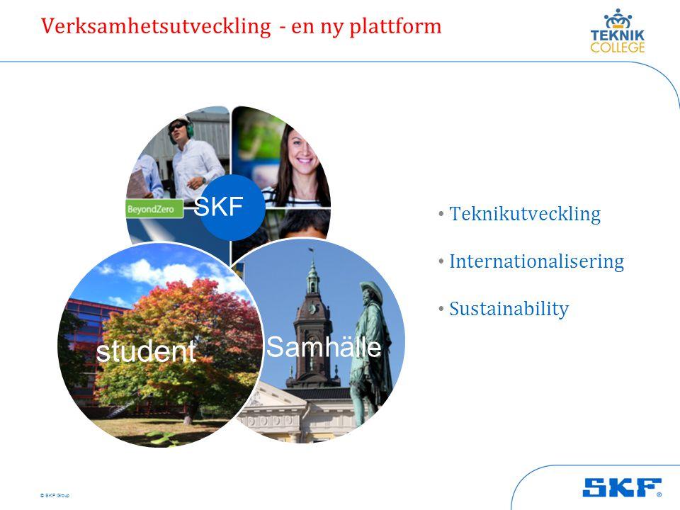 student Samhälle SKF Verksamhetsutveckling - en ny plattform