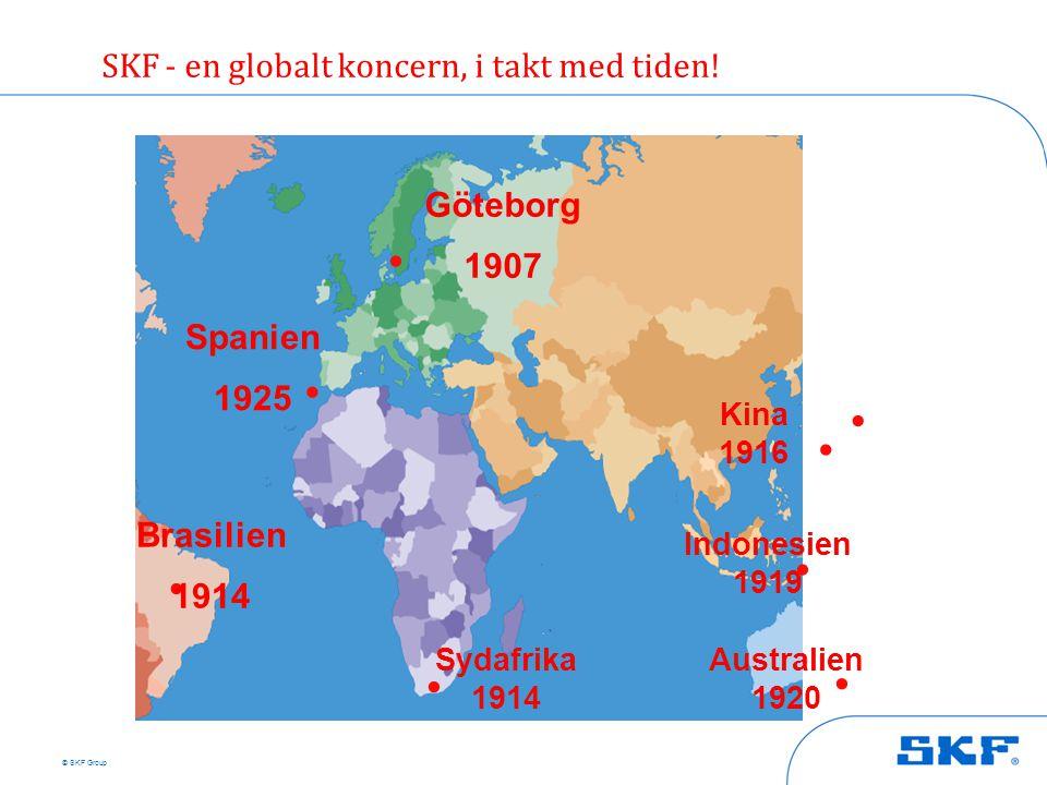 . . . . . . . . SKF - en globalt koncern, i takt med tiden!
