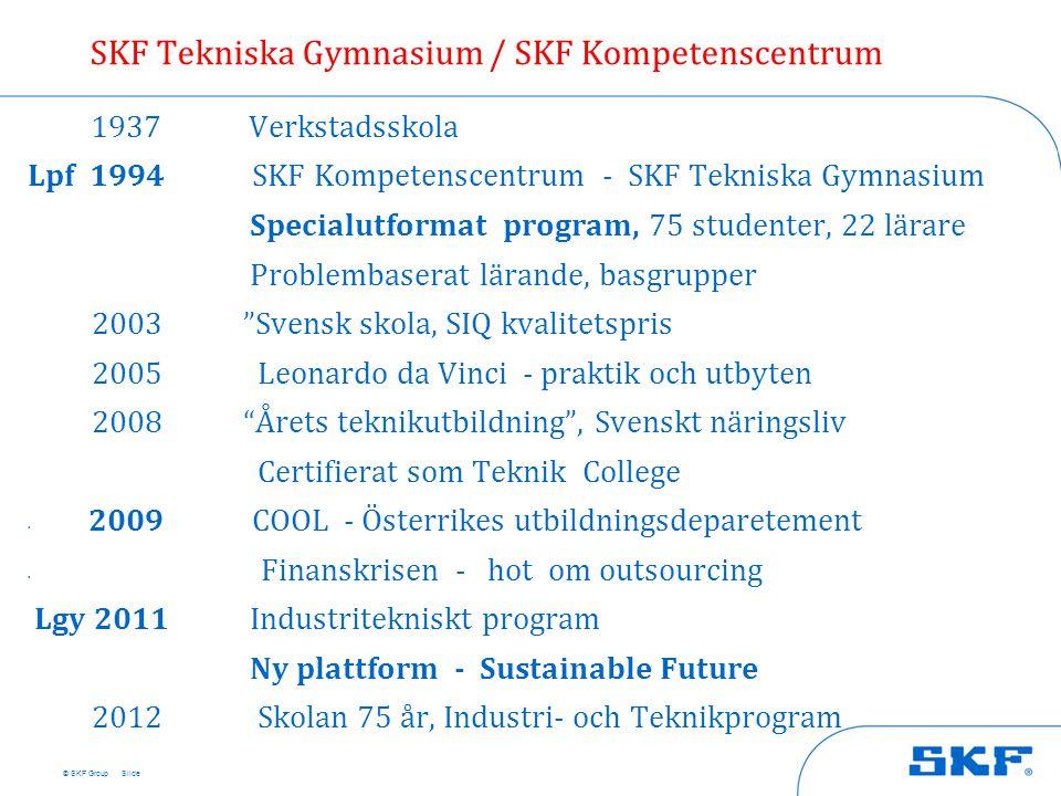 SKF Tekniska Gymnasium / SKF Kompetenscentrum