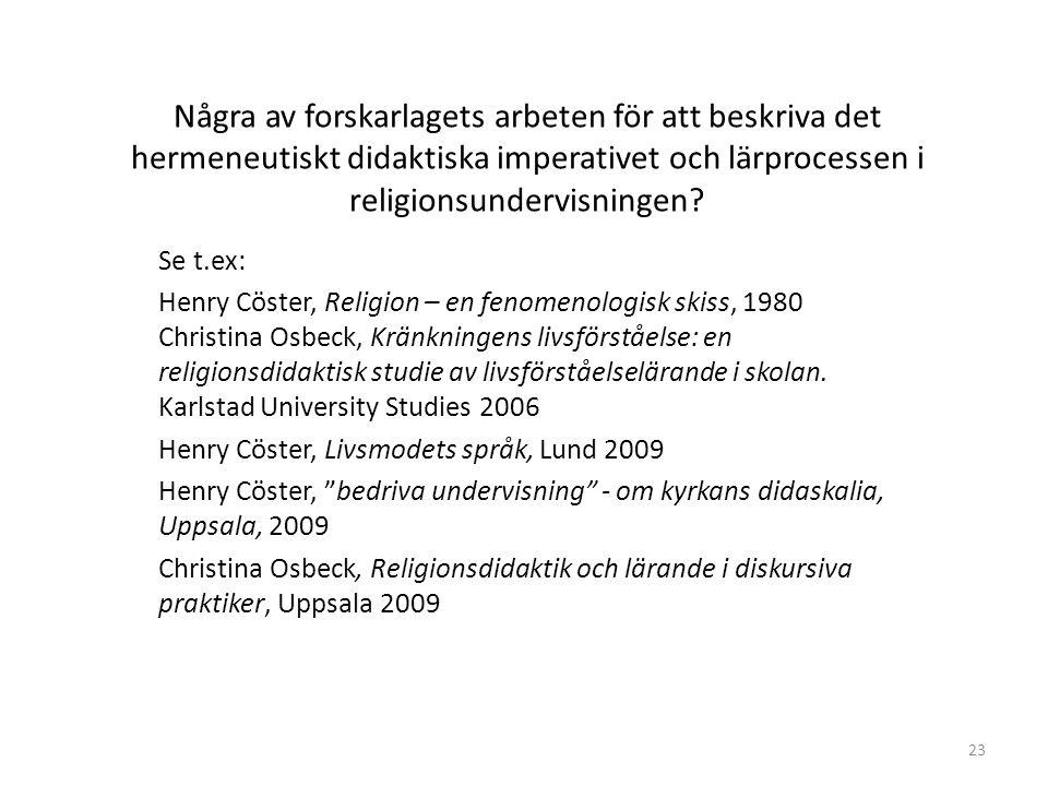 Henry Cöster, Livsmodets språk, Lund 2009