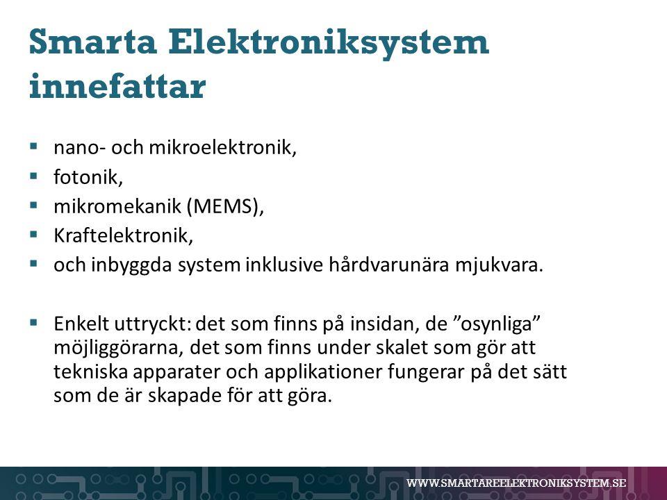 Smarta Elektroniksystem innefattar