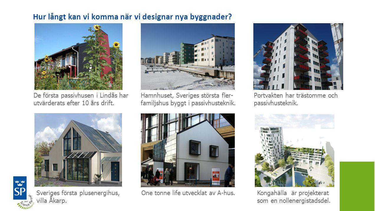 Hur långt kan vi komma när vi designar nya byggnader