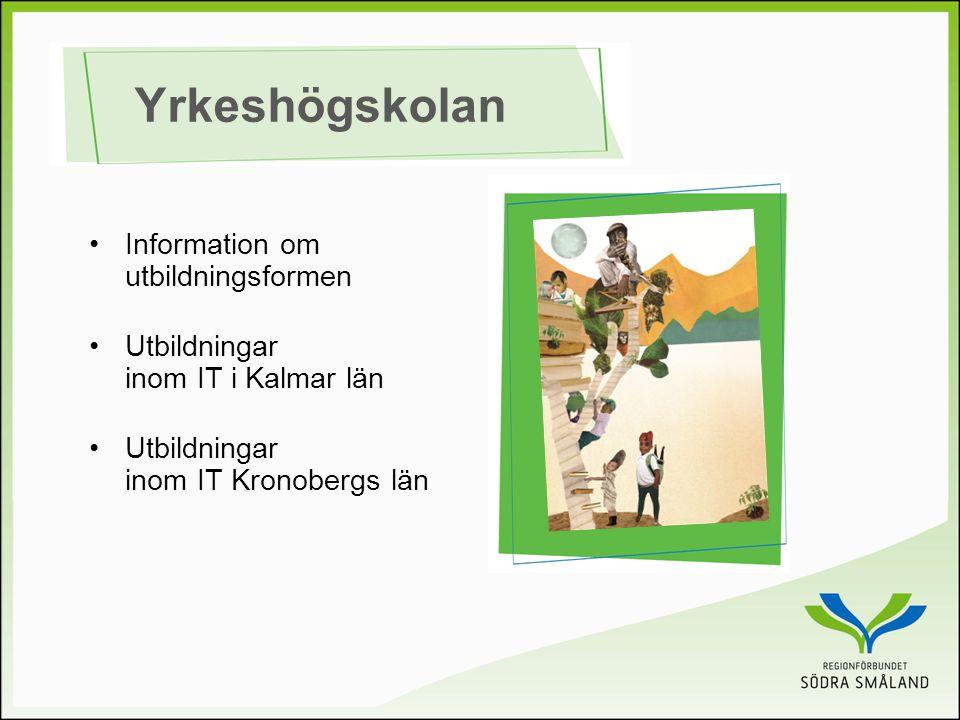Yrkeshögskolan Information om utbildningsformen