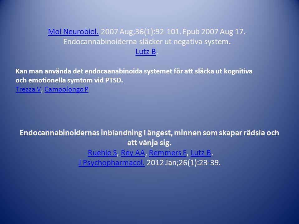 Mol Neurobiol. 2007 Aug;36(1):92-101. Epub 2007 Aug 17