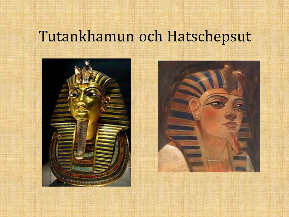 Tutankhamun och Hatschepsut