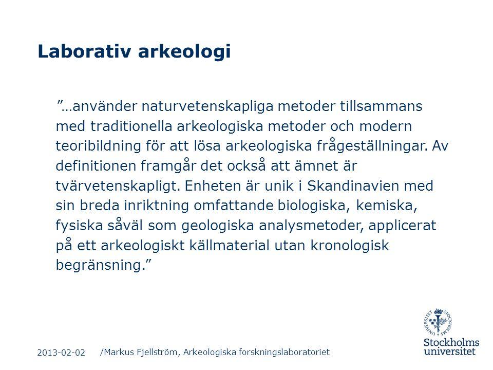 Laborativ arkeologi