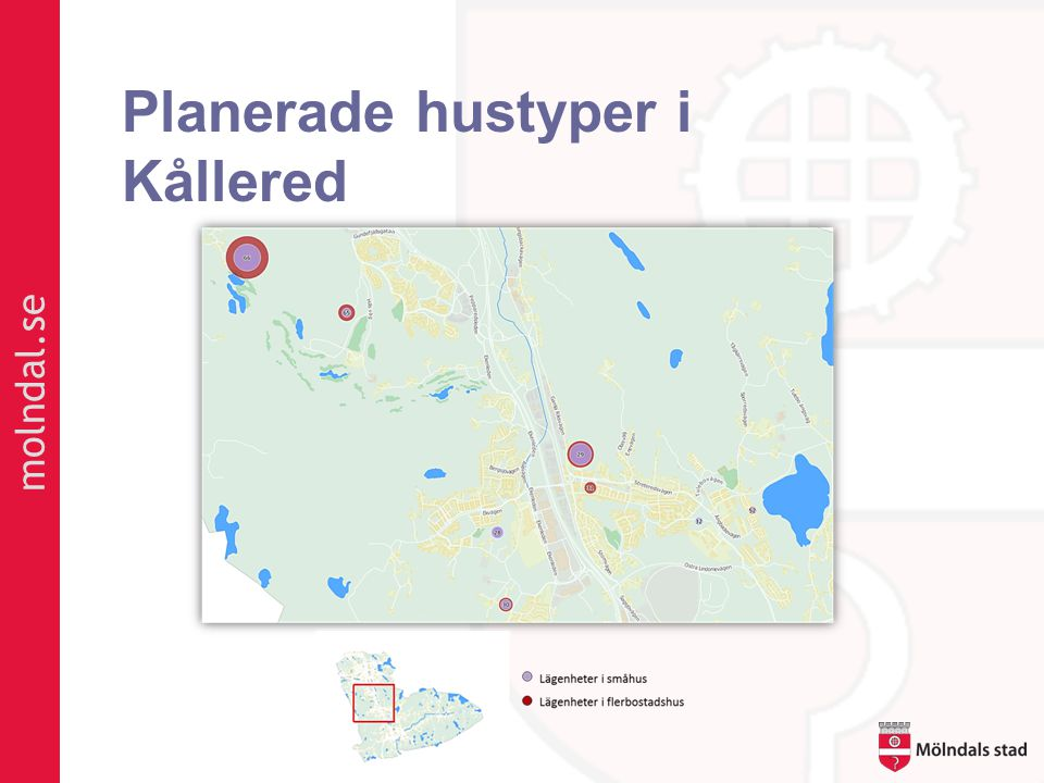 Planerade hustyper i Kållered
