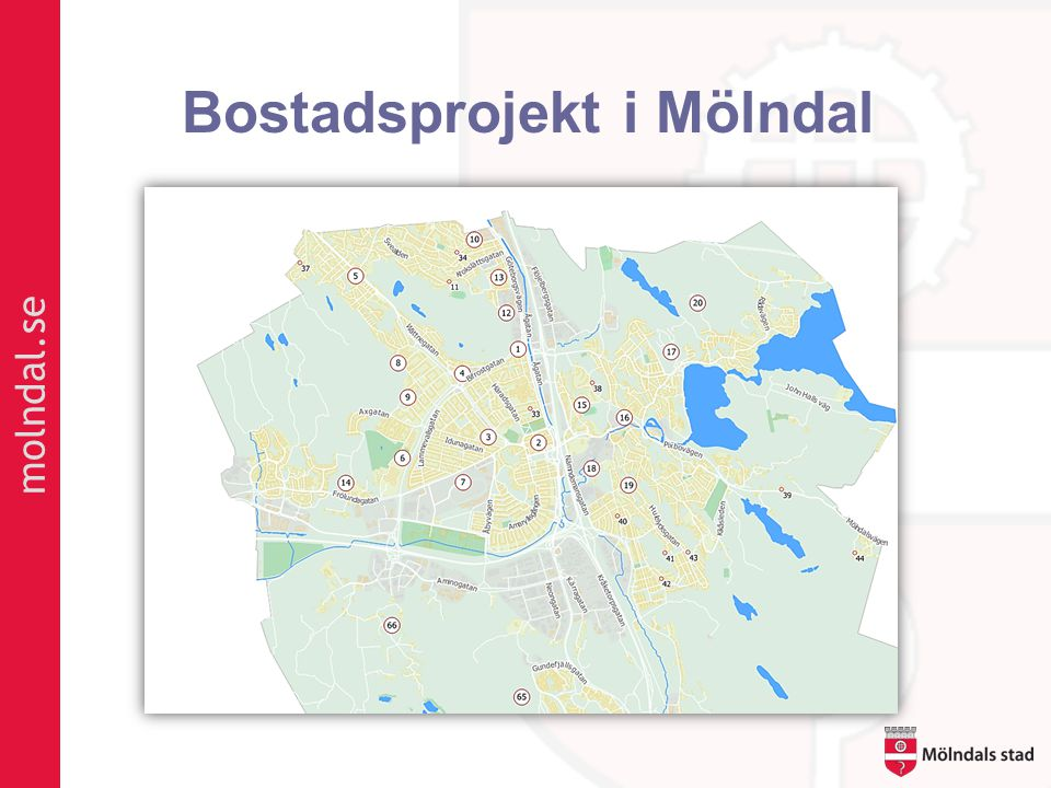 Bostadsprojekt i Mölndal