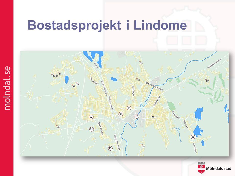 Bostadsprojekt i Lindome