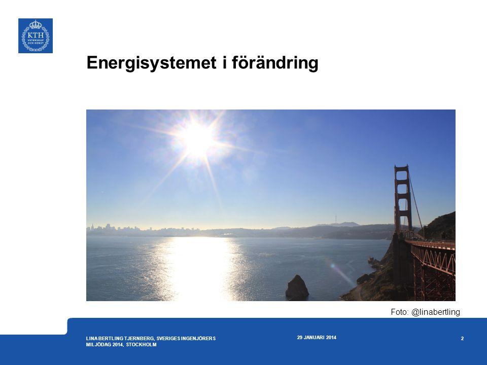 Energisystemet i förändring