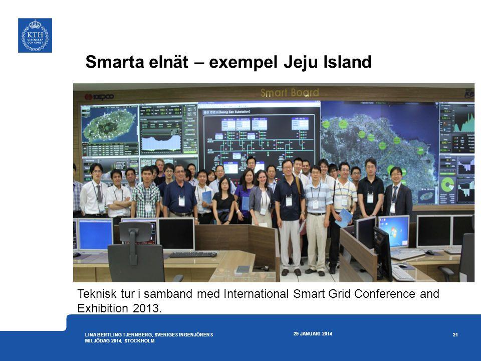 Smarta elnät – exempel Jeju Island