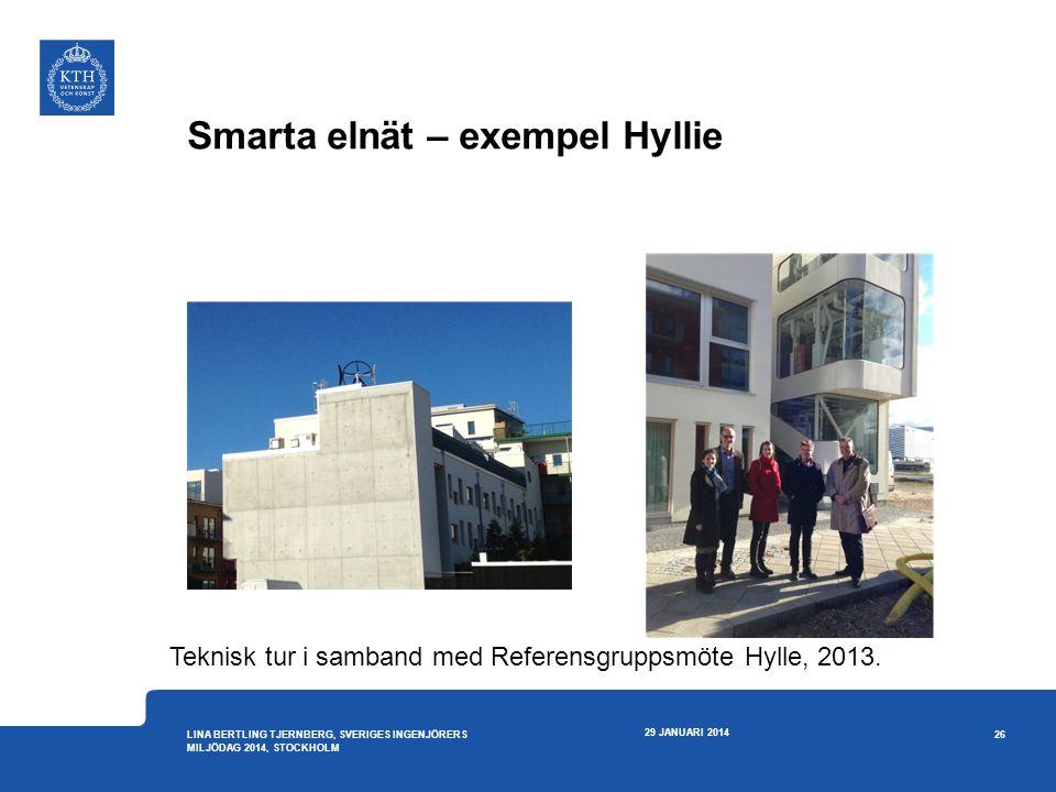 Smarta elnät – exempel Hyllie