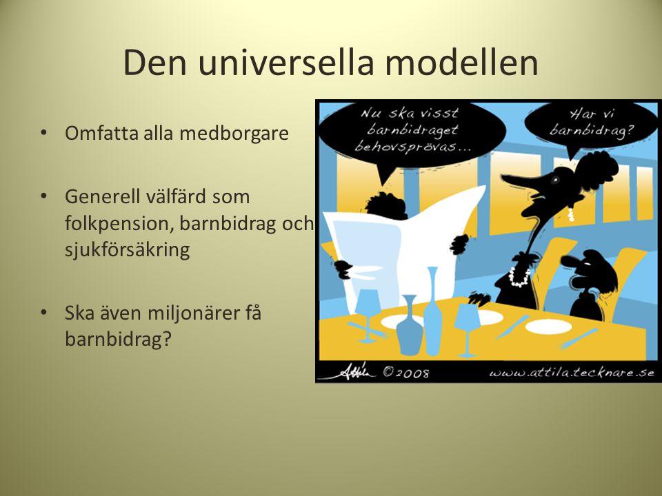 Den universella modellen