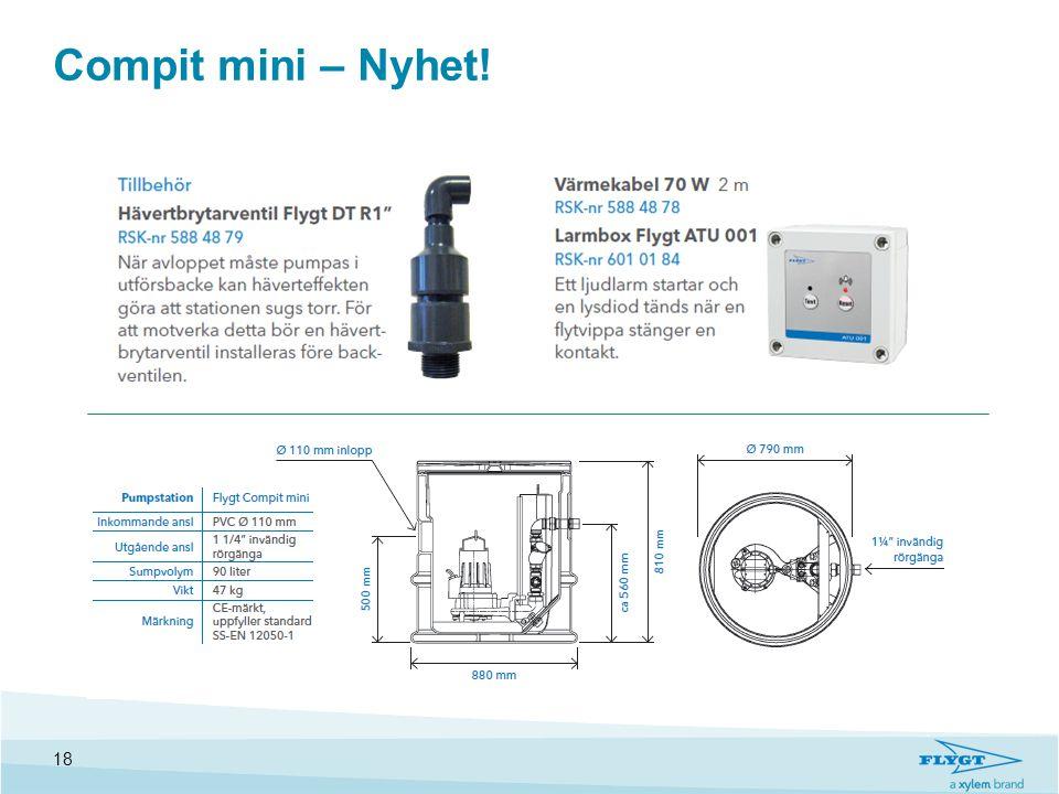 Compit mini – Nyhet!