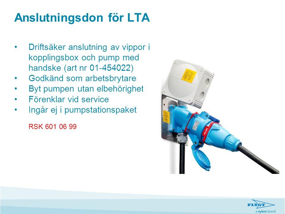 Anslutningsdon för LTA