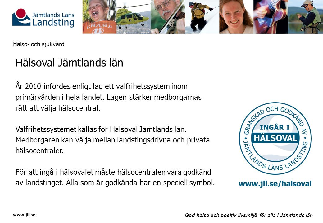 Hälsoval Jämtlands län