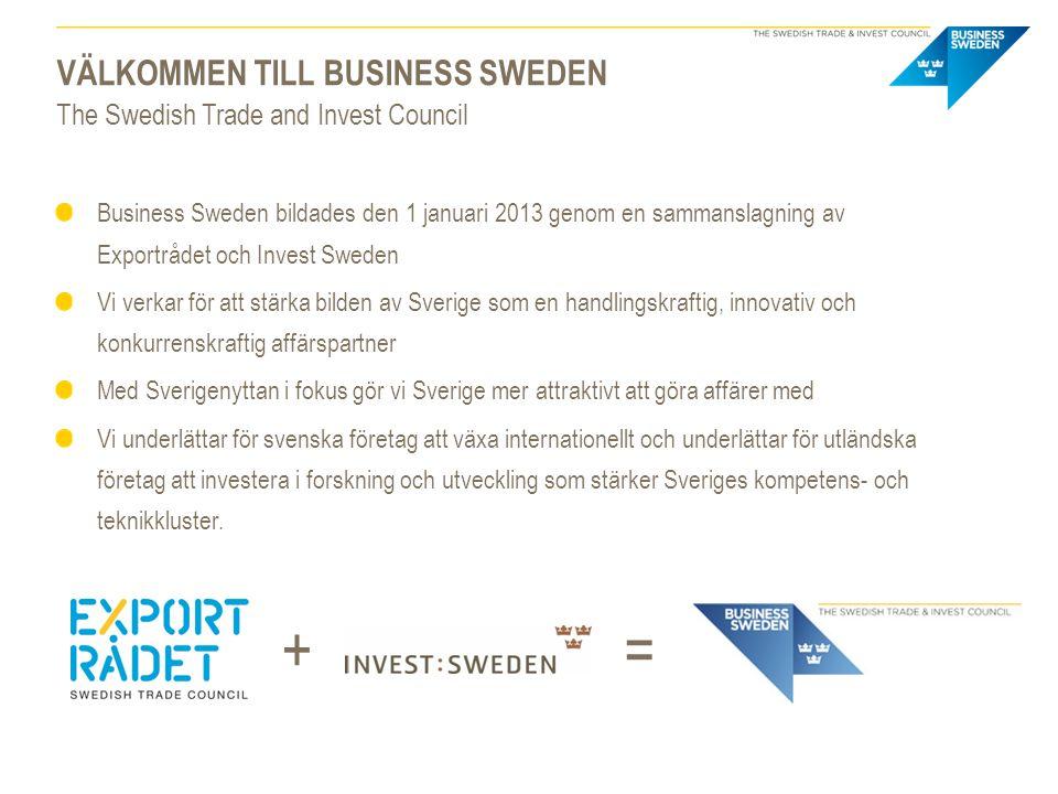 Välkommen till Business Sweden