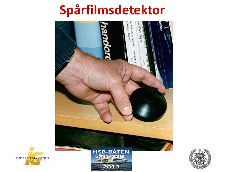 Spårfilmsdetektor Göran Nyman