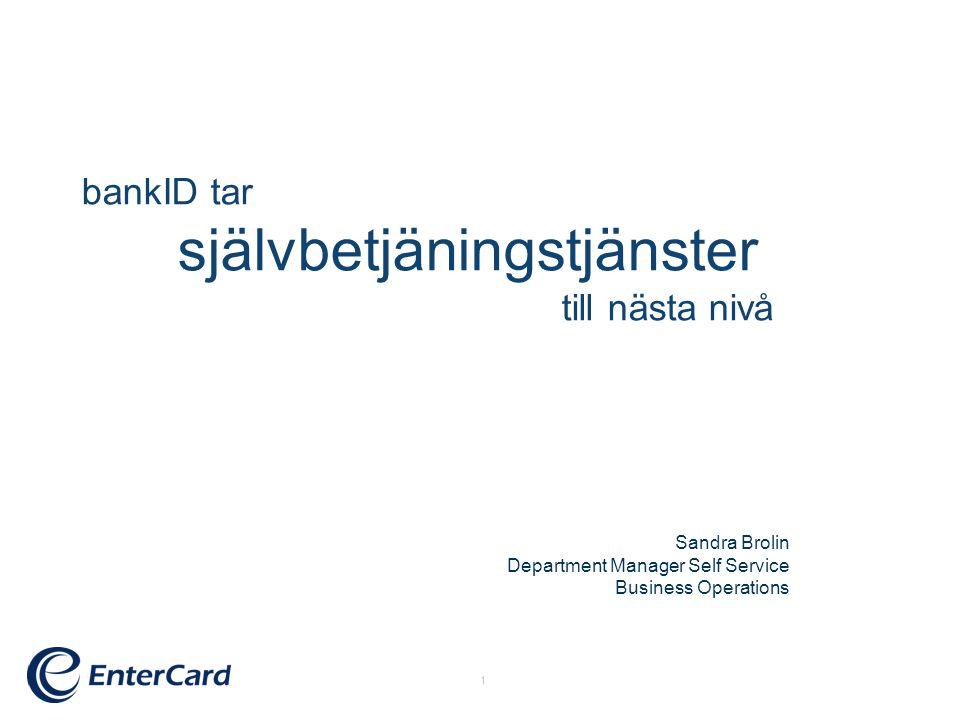 bankID tar självbetjäningstjänster till nästa nivå