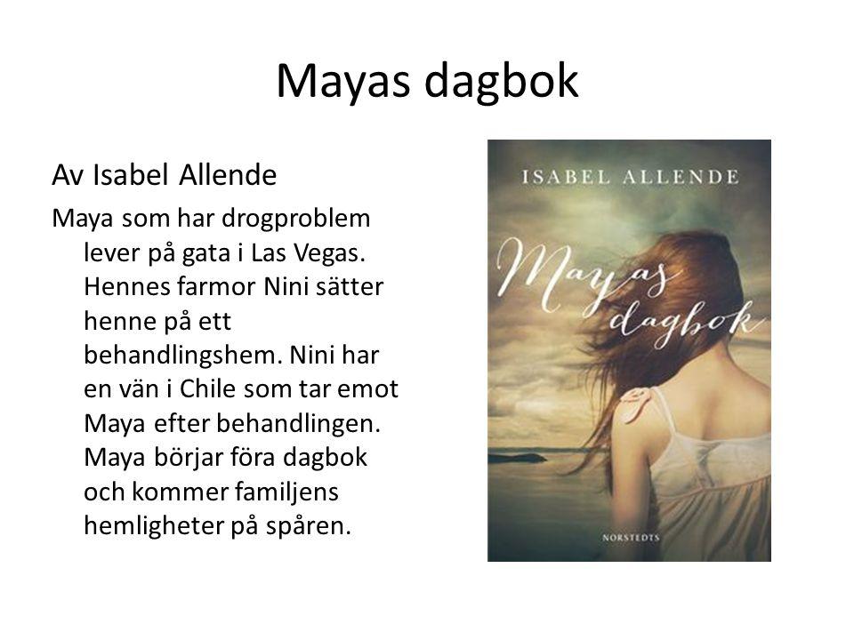 Mayas dagbok Av Isabel Allende