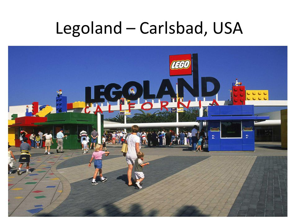 Legoland – Carlsbad, USA