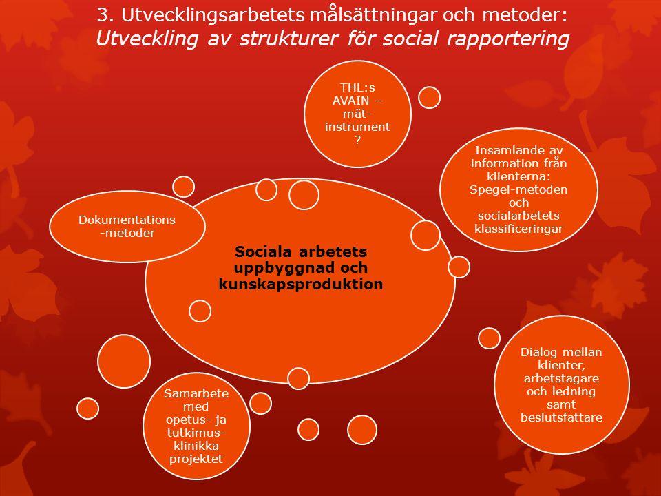 Sociala arbetets uppbyggnad och kunskapsproduktion