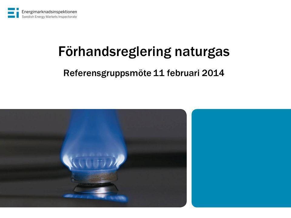 Förhandsreglering naturgas