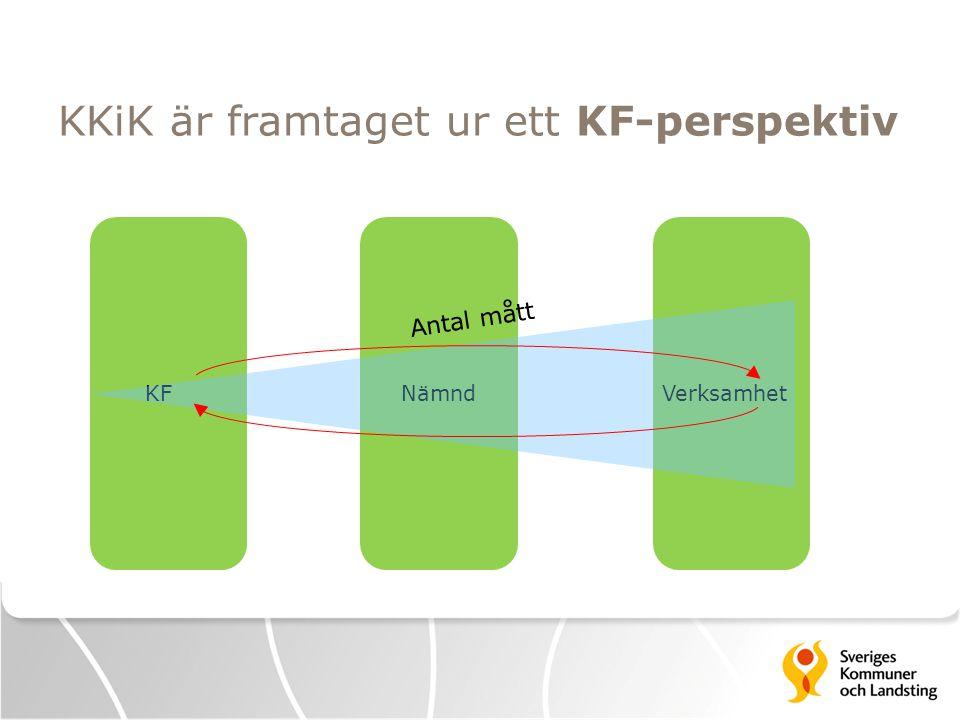 KKiK är framtaget ur ett KF-perspektiv