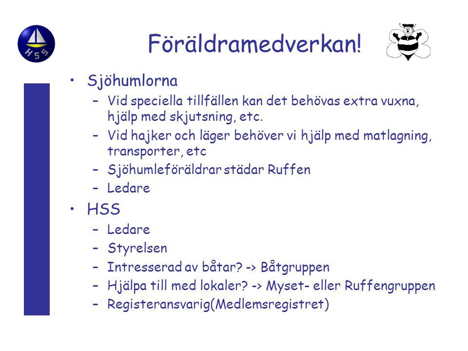 Föräldramedverkan! Sjöhumlorna HSS