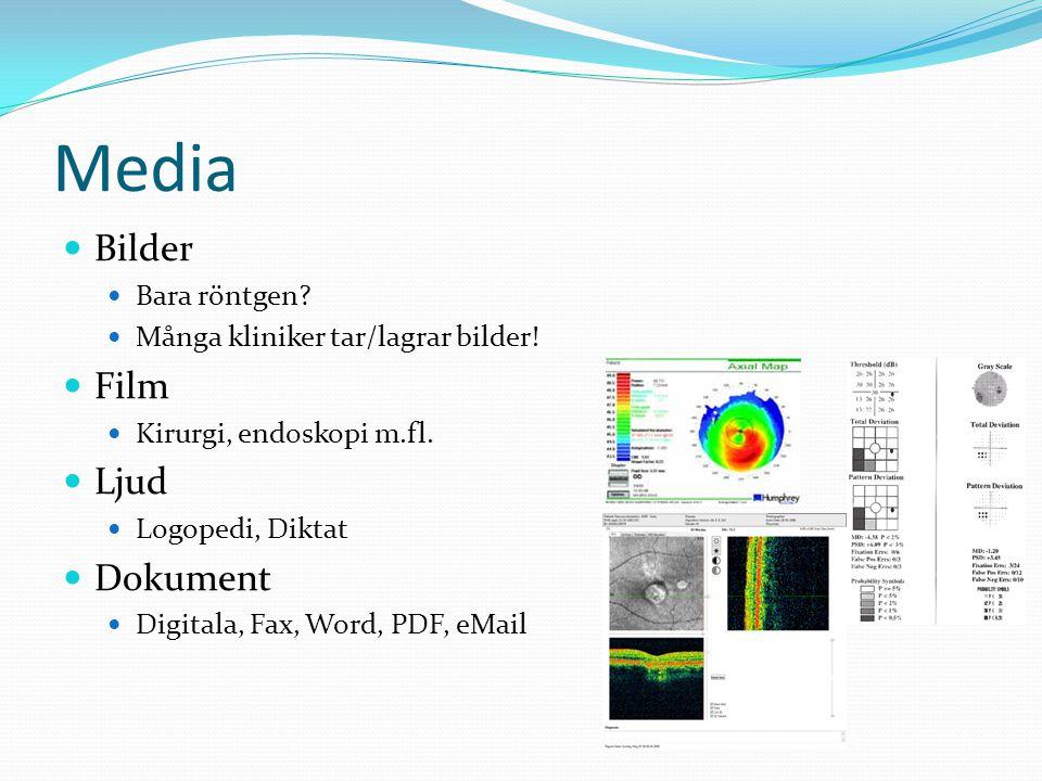 Media Bilder Film Ljud Dokument Bara röntgen