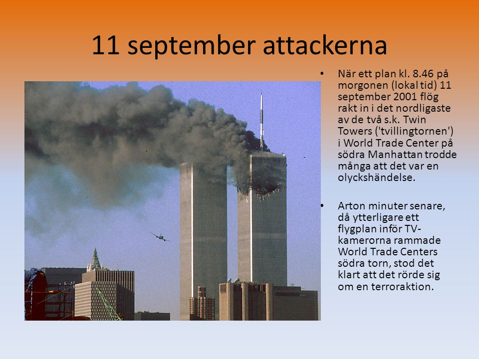 11 september attackerna