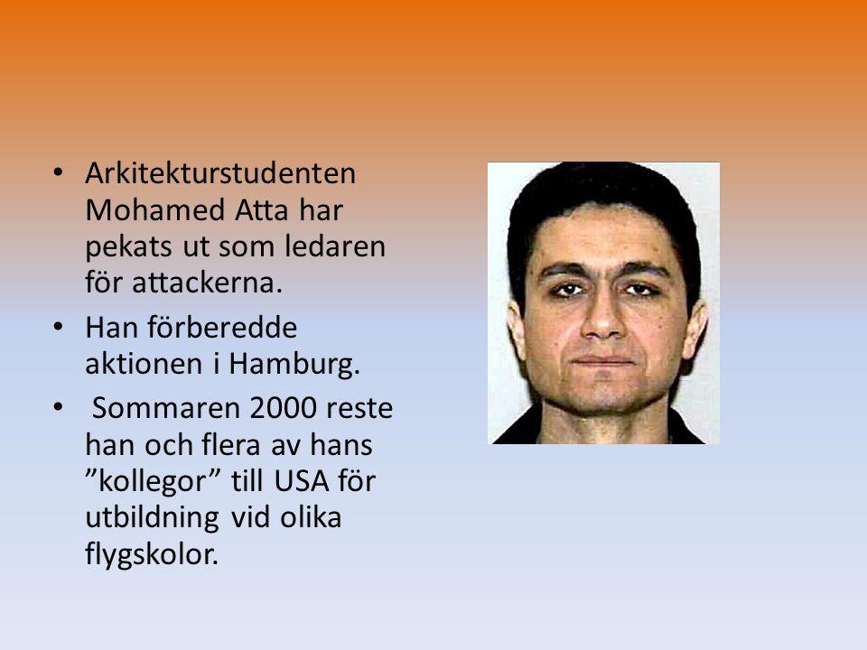 Arkitekturstudenten Mohamed Atta har pekats ut som ledaren för attackerna.
